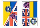 Разработка макета флага. Флаг с логотипом в Киеве, фото 5