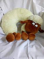 Подушка рогалик овечка