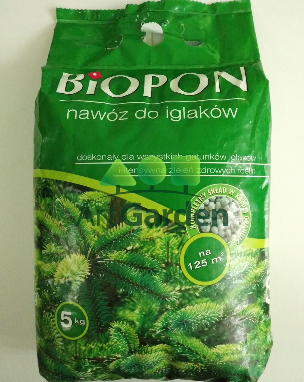 Biopon для хвойных растений 5кг