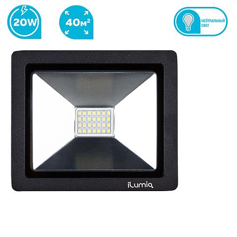 Светодиодный прожектор Ilumia 041 FL-20-NW 20W 4000К 2000Lm