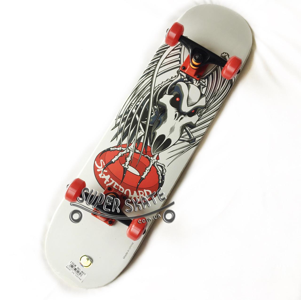 Скейтборд дерево - Dead series 79 см - Птеродактиль скейт