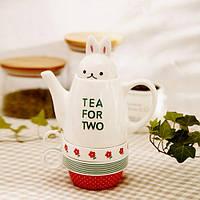 """Набор чай для двоих """"Зайка"""""""