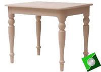 Компактный кухонный стол из дерева Ванесса, массив бука, фото 1