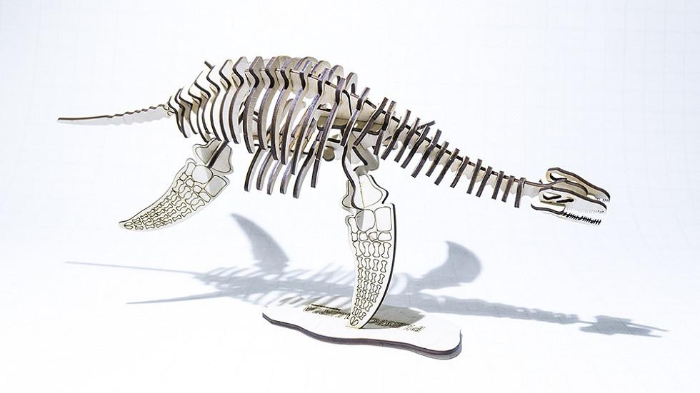 "3D Пазл динозавр ""Плезиозавр"""