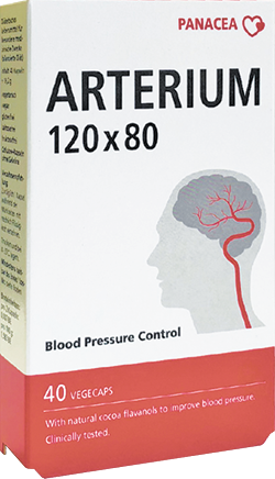Arterium (Артериум) - натуральные капсулы для здоровья сердца и сосудов
