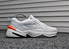 Женские демисезонные кроссовки Nike Tekno White Orange топ реплика