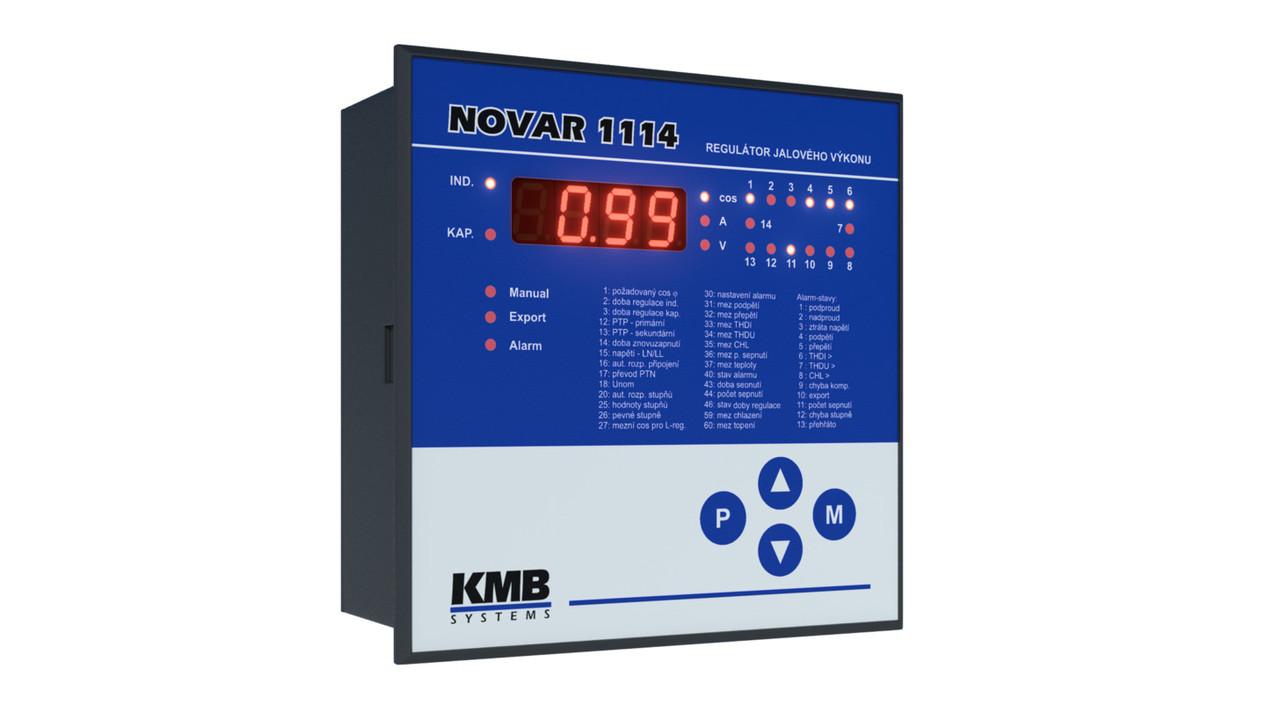 Novar 1114 регулятор реактивной мощности KMB (Чехия). 14 ступеней