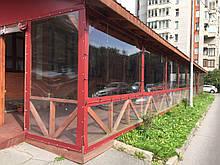Мягкие окна (мягкое стекло) для кафе и ресторанов! Пошив и производство! Гарантия ! тенты для кафе