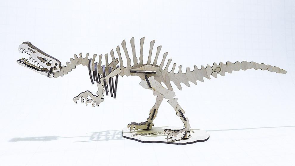 3D Пазл динозавр Трицератопс