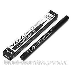 Подводка-фломастер NYX Thick Black Eyeliner