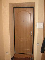 Металлическая дверь в квартире