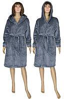NEW! Зимние женские махровые халаты серии Classic Grey ТМ УКРТРИКОТАЖ!