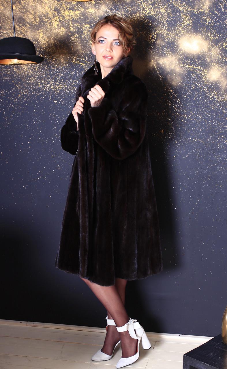 Шуба норковая  Модель 20048 42, фото 1