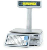 Весы с печатью этикетки Digi SM-500P (со стойкой) бу