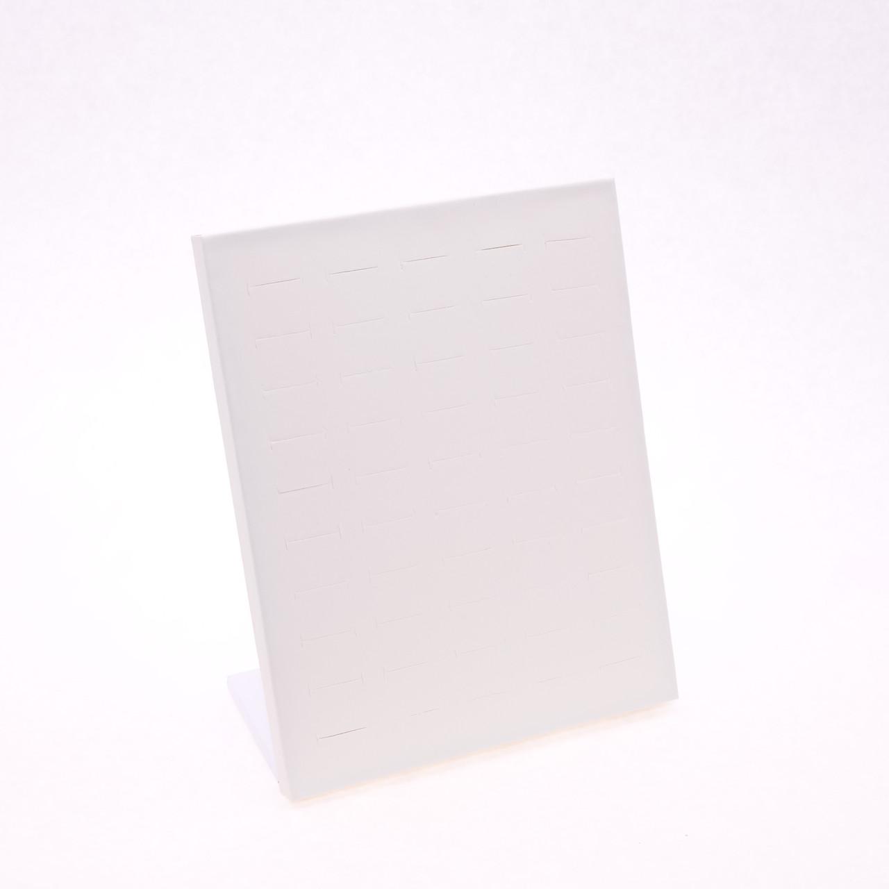 """Стойка планшет """"Для колец эко-кожа кремовая 24 х 20 х 10 см"""""""
