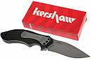 Нож складной Kershaw Clash (длина: 184мм, лезвие: 89мм), черный, фото 8