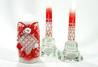 Набор свадебных свечей С-308