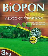Biopon осіннє для газону 3кг