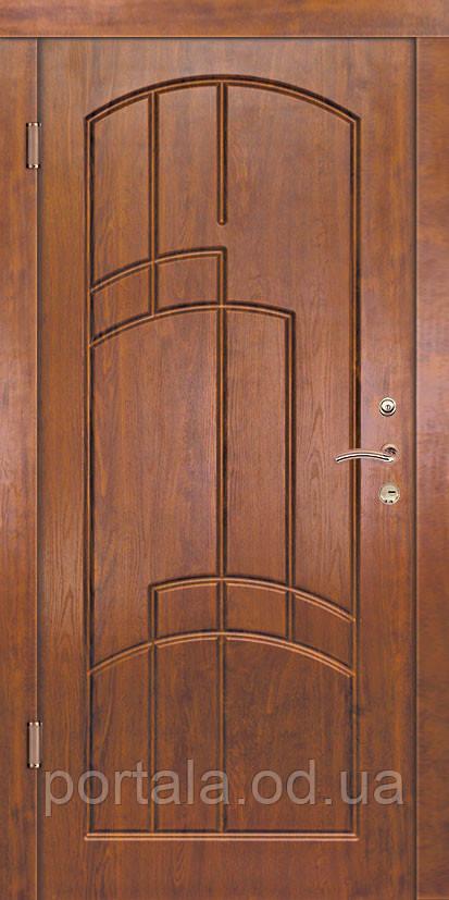 """Вхідні двері для вулиці """"Портала"""" (Стандарт Vinorit) ― модель Сієста"""