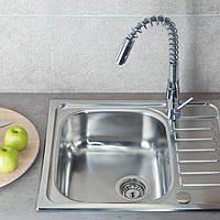 Мойка Elleci Special 125 DX Satinato кухонная  из нержавеющей стали
