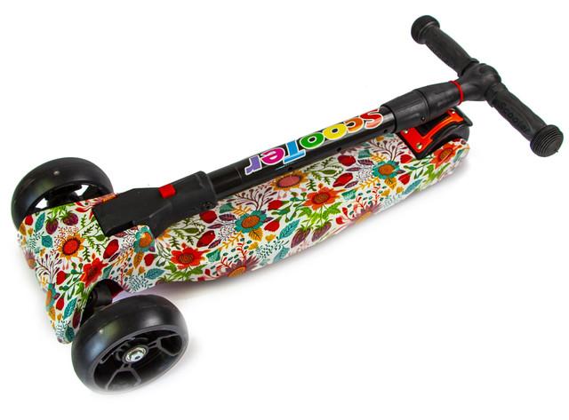 Самокаты для детей от 3 лет со светящимися колесами Scooter Smart
