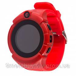 ДЕТСКИЕ УМНЫЕ GPS ЧАСЫ Q360 Красный