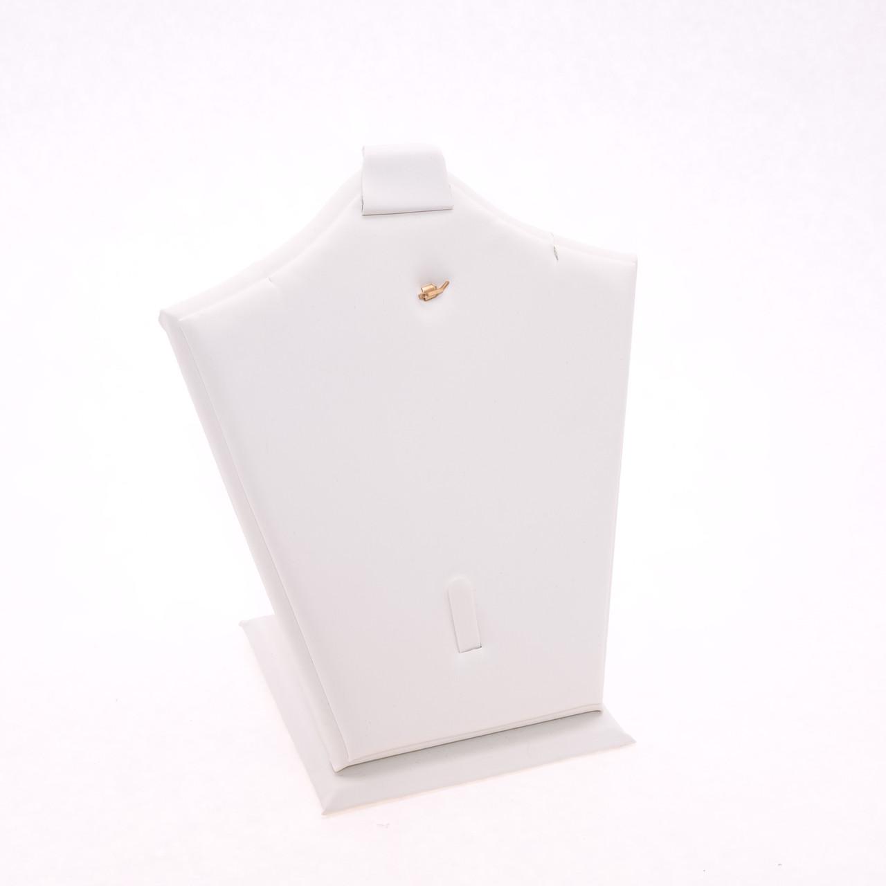 Подставка для набора экокожа белая