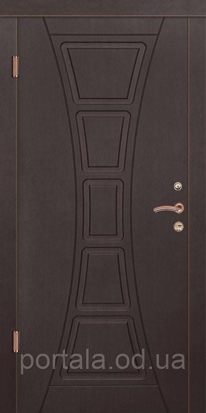 """Входная дверь для улицы """"Портала"""" (Стандарт Vinorit) ― модель Филадельфия"""