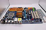 Плата ТОПОВА S775 GIGABYTE GA-P35-DS3 с4мя PCI-EXPRESS Розуміє 8GB DDR2 + АБСОЛЮТНО ВСЕ - XEON, QUAD, DUO, фото 2