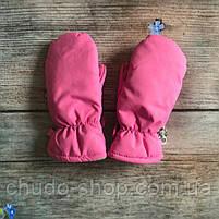 Детские краги для девочек розовые, фото 3