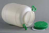 Бочка 50л пластик, харчова GR-01001 | пищевая, фляга