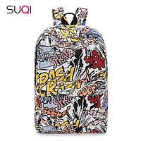 Модный рюкзак хип-хоп с рисунком граффити