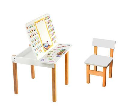 Столик-мольберт  детская Абетка + стульчик, фото 2