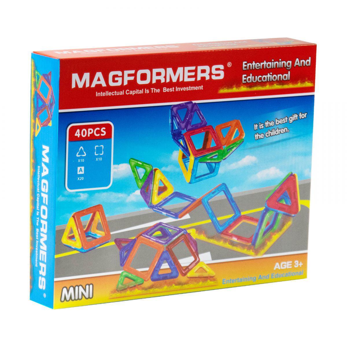 """Магнитный конструктор """"Magformers"""" (40 дет)"""