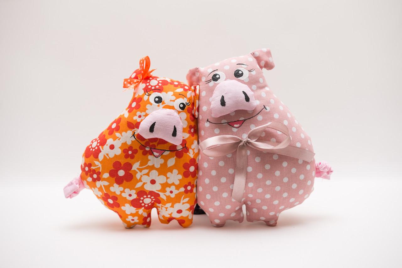 Свинки неразлучники цветные VikaMade