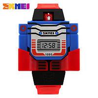 Детские электронные наручные часы Skmei 1095 для мальчика, фото 1