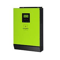 Гибридный солнечный инвертор 3кВт, 220В, ISGRID-BF 3000, AXIOMA energy