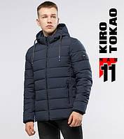 Мужская куртка на зиму 6016 серый  42