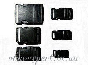 Застежка-фастекс пластиковая 15 мм Черный, фото 2