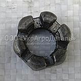 Гайка рычага отжимного ЮМЗ (регулировочная) 45-1604083, фото 2