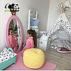 Зеркало в детскую комнату Princess розовое, фото 6