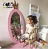 Зеркало в детскую комнату Princess розовое, фото 5