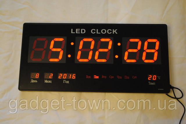 Настінні електронні годинники LED великі