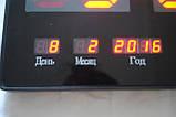 Настінні електронні годинники LED великі, фото 3