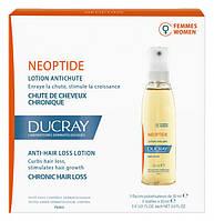 Лосьон стимулирующий, против хронического выпадения волос у женщин Ducray Neoptide 3x30 мл (3282779242080)