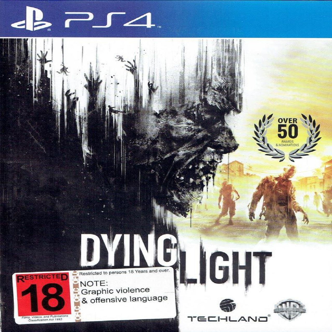 Dying Light RUS PS4 (Б/В)