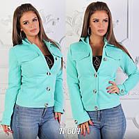 Пальто женское с кашемира короткое, норма
