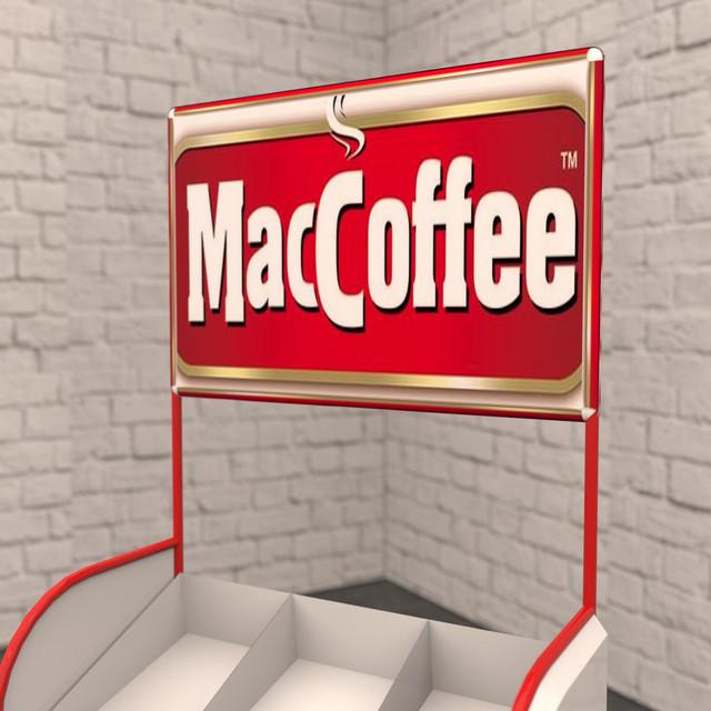 Maccoffee Производство рекламных стоек