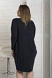Сукня жіноча Сакура Чорний,Темно Синій, фото 2