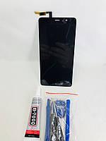Экран, дисплей, модуль Xiaomi Redmi Note 3 (черный)